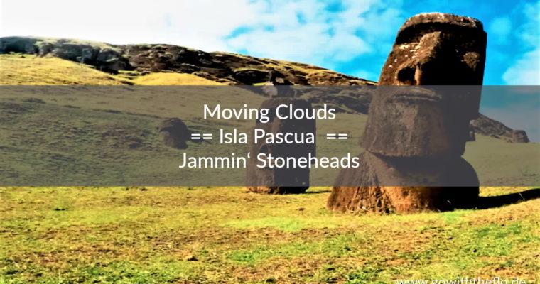 Jammin' Stoneheads at Rano Raraku