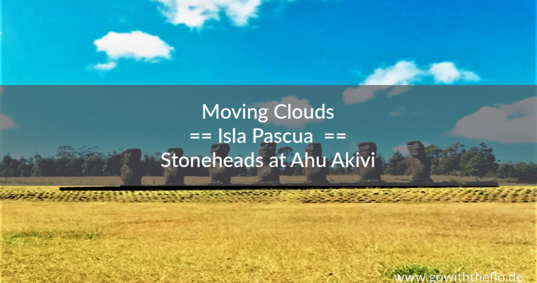Jammin' Stoneheads at Ahu Akivi